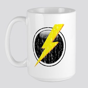 Lightning Bolt Distressed Large Mug