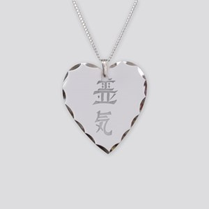 reiki greystone Necklace