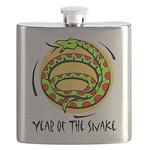 Yr of Snake b Flask