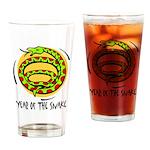 Yr of Snake b Drinking Glass