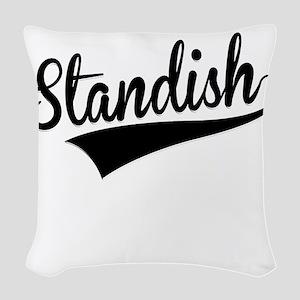 Standish, Retro, Woven Throw Pillow