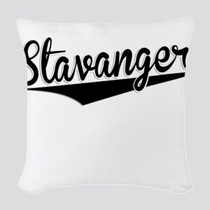 Stavanger, Retro, Woven Throw Pillow