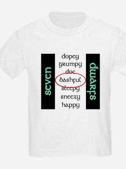 bashful2 T-Shirt