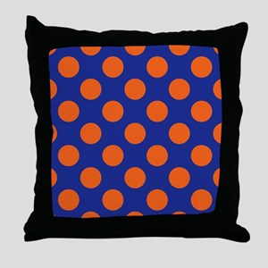 Gator Polkadots Throw Pillow
