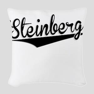 Steinberg, Retro, Woven Throw Pillow