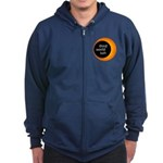 Third World Sun (black Or Navy) Zip Hoodie (dark)