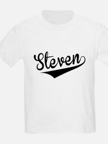 Steven, Retro, T-Shirt