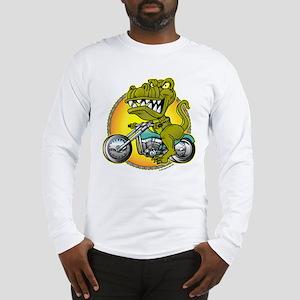 T-Rex Cycles @ eShirtLabs Long Sleeve T-Shirt
