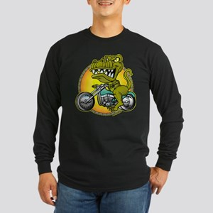 T-Rex Cycles @ eShirtLabs Long Sleeve Dark T-Shirt