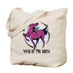 Yr of Horse Tote Bag