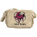 Yr of Horse Messenger Bag