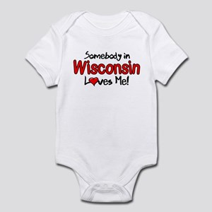 Somebody - Wisconsin Infant Bodysuit