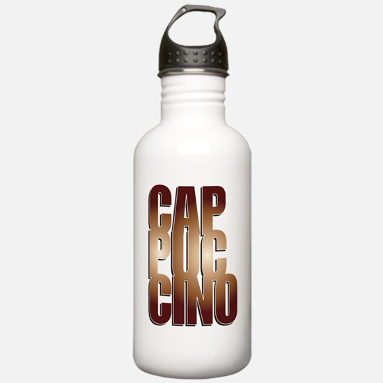 Cute Gold cup Water Bottle