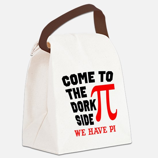 Cute Come to the nerd side Canvas Lunch Bag