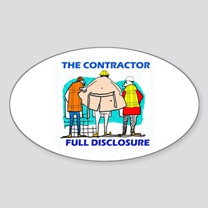 The Contractor Full Disclosure Sticker