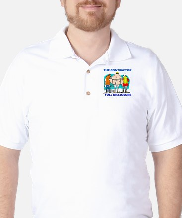 The Contractor Full Disclosure Golf Shirt