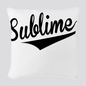 Sublime, Retro, Woven Throw Pillow