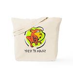 Yr of Monkey b Tote Bag