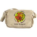 Yr of Monkey b Messenger Bag
