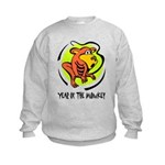 Yr of Monkey b Sweatshirt