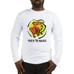 Yr of Monkey b Long Sleeve T-Shirt