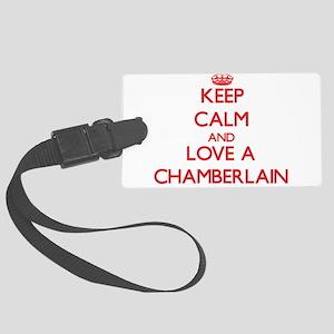 Keep Calm and Love a Chamberlain Luggage Tag