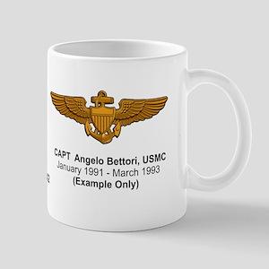 A-6 Intruder Vma(aw)-224 Bats Pilot Mug Mugs