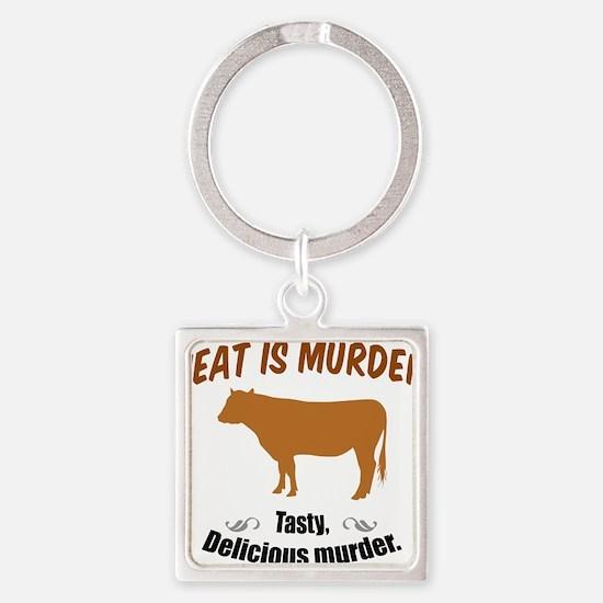 Meat is Murder! Keychains