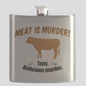 Meat is Murder! Flask