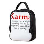 Karma Neoprene Lunch Bag