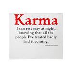 Karma Throw Blanket