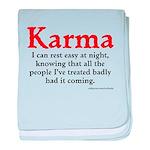 Karma baby blanket