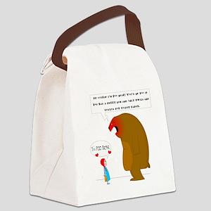 Poo Bear Canvas Lunch Bag