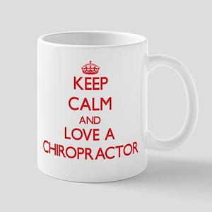 Keep Calm and Love a Chiropractor Mugs