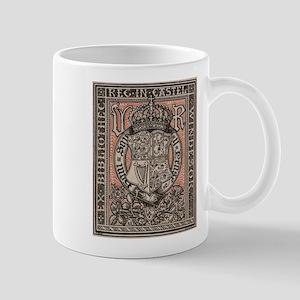Queen Victoria Bookplate Mugs