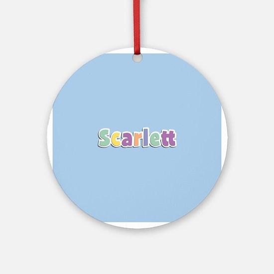 Scarlett Spring14 Ornament (Round)