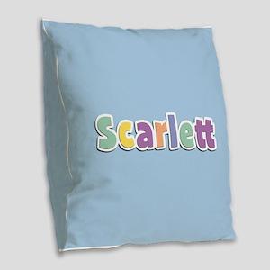 Scarlett Spring14 Burlap Throw Pillow