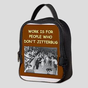 JITTERbug Neoprene Lunch Bag