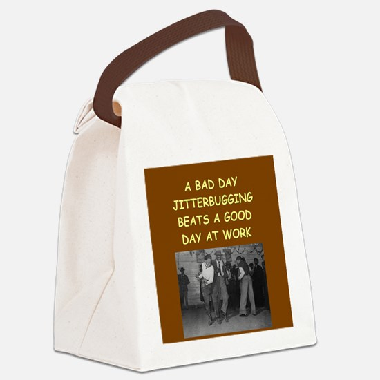 JITTER2 Canvas Lunch Bag