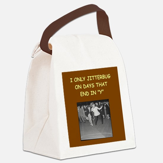 JITTER3 Canvas Lunch Bag