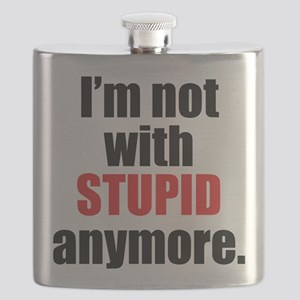 Not With Stupid Anymore Flask
