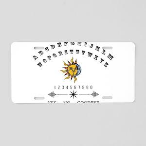 Ouija Board Aluminum License Plate