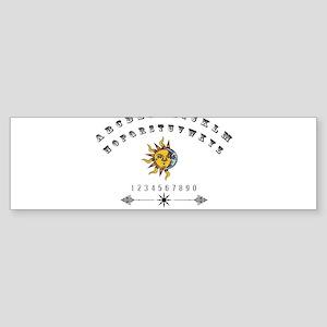 Ouija Board Bumper Sticker