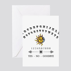 Ouija Board Greeting Cards