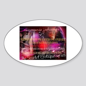The Scarlet Erotique Series Quotables Sticker