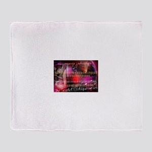 The Scarlet Erotique Series Quotables Throw Blanke