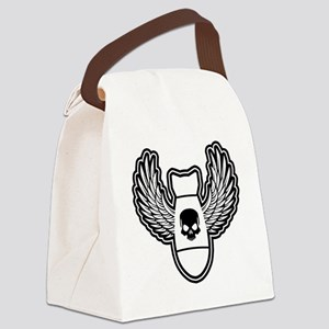 Winged bomb Canvas Lunch Bag