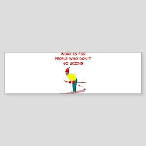 SKI4 Bumper Sticker