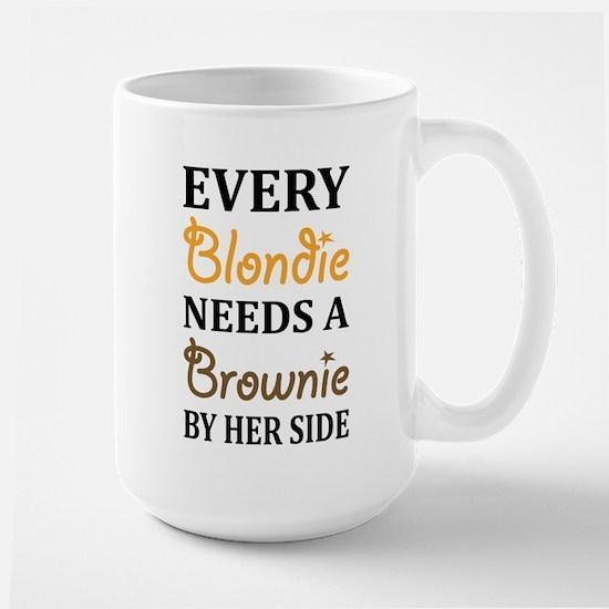 Every Blondie Needs A Brownie Best Friend Mugs