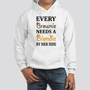 Every Brownie Needs A Blondie Best Friend Hoodie